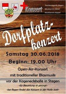 Dorfplatzkonzert 2018