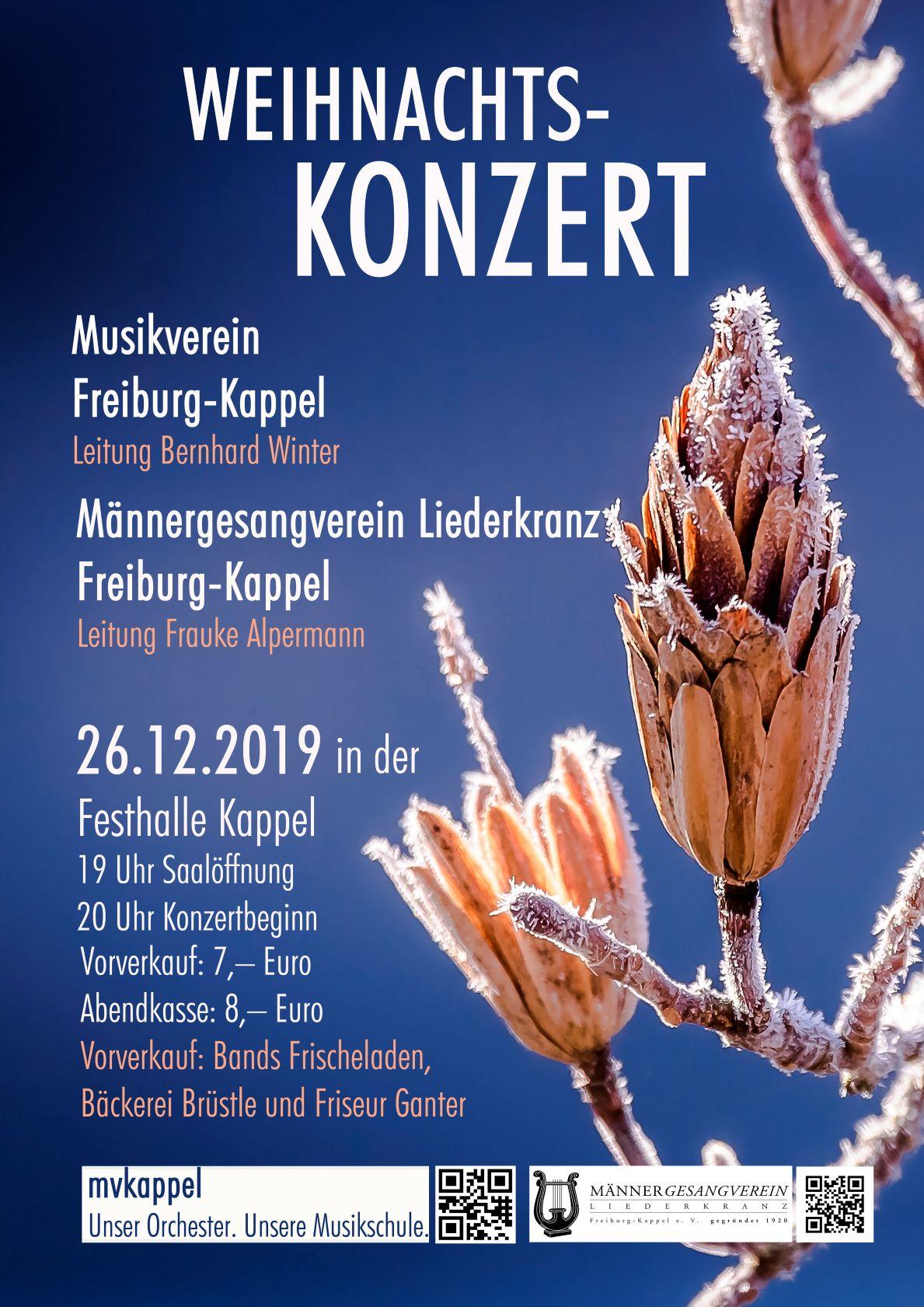 mvkappel - Weihnachtskonzert 2019