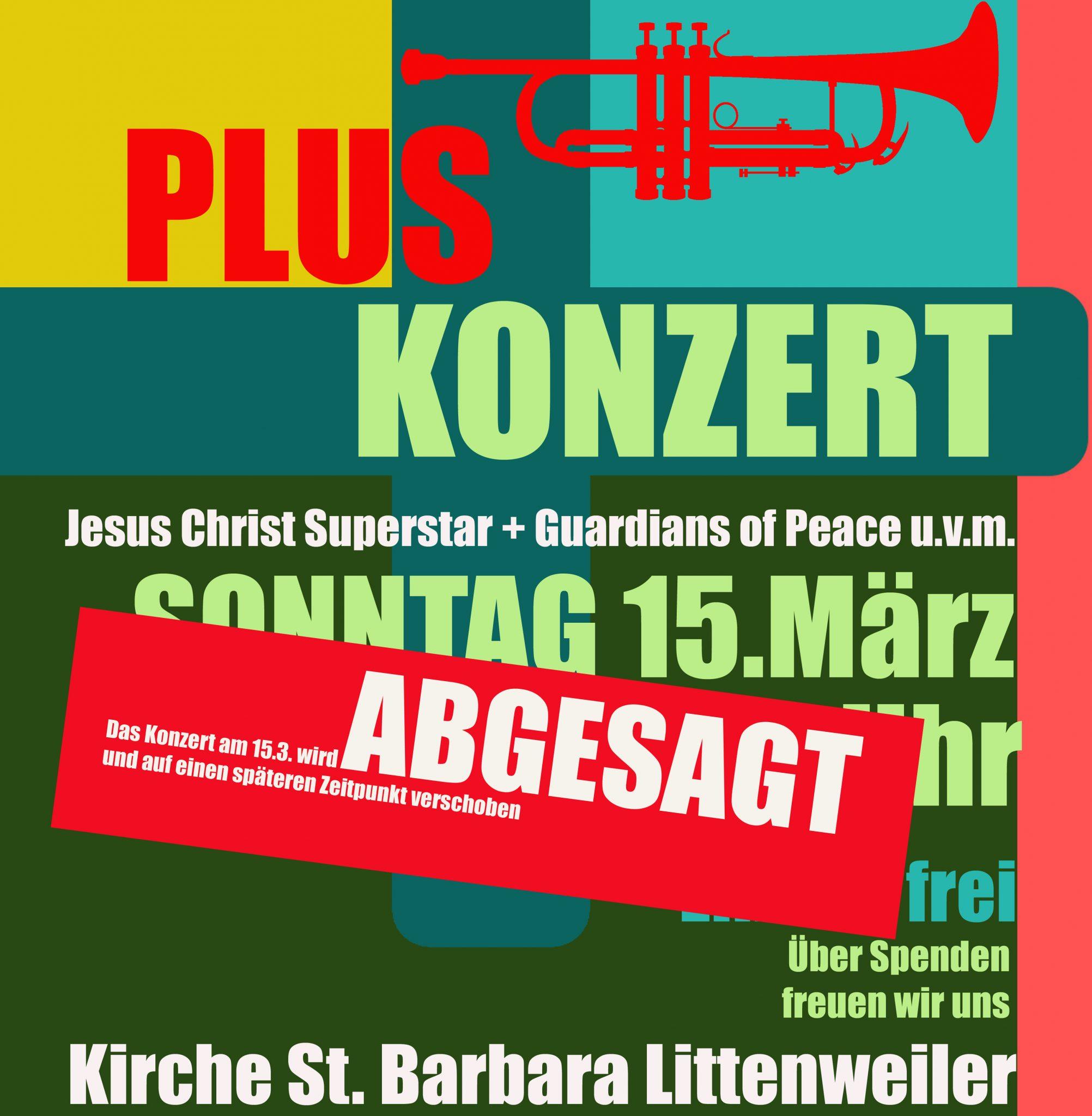 mvkappel - Plus-Konzert Absage